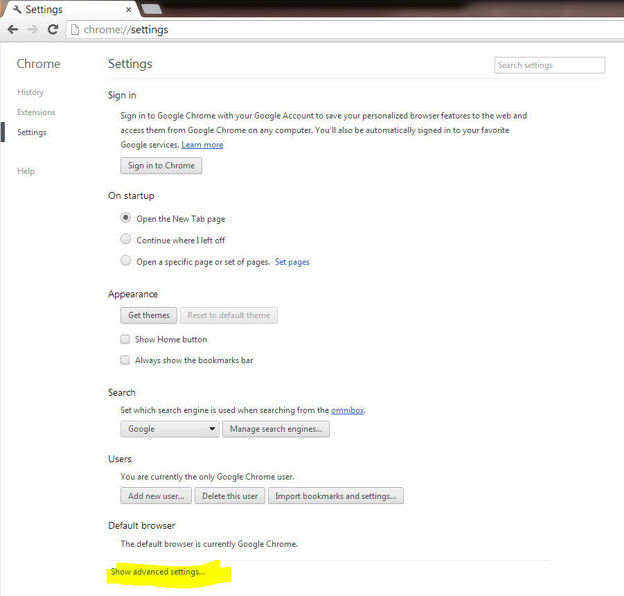 Pop Up Blocker In Google Chrome Etz Technologies Ltd