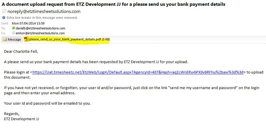 etz automatic emails document management etz With upload documents email