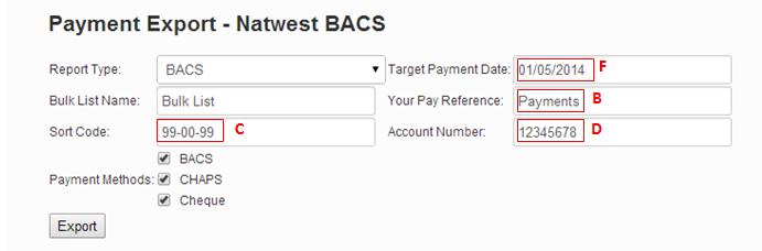 BACS Files - Natwest – etz Technologies Ltd