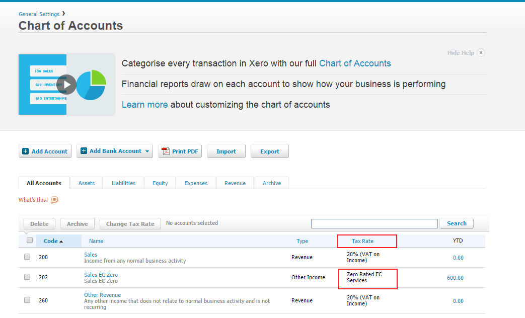 how to create a new report in xero